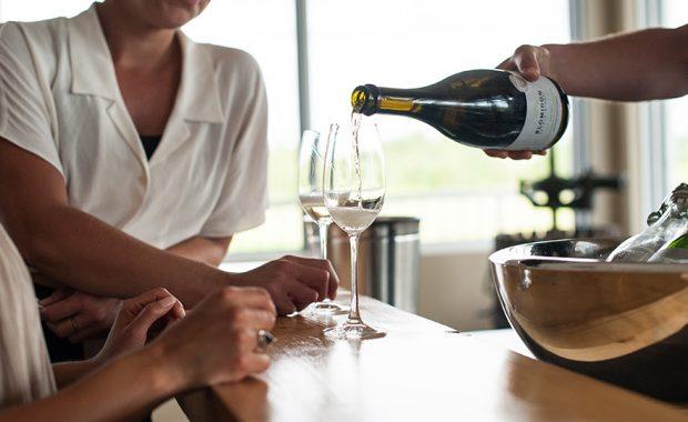 Blomidon Estate Winery tasting