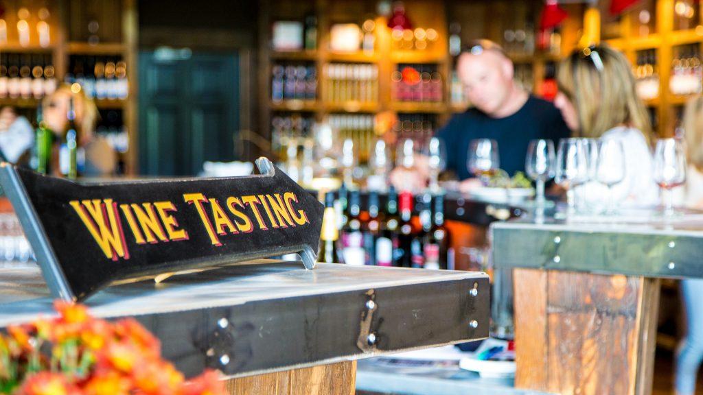 Jost Vineyards tasting room