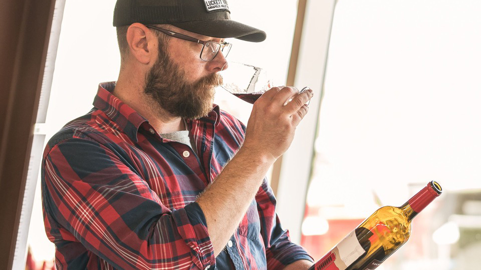 Luckett Vineyards, Winemaker Mike Mainguy