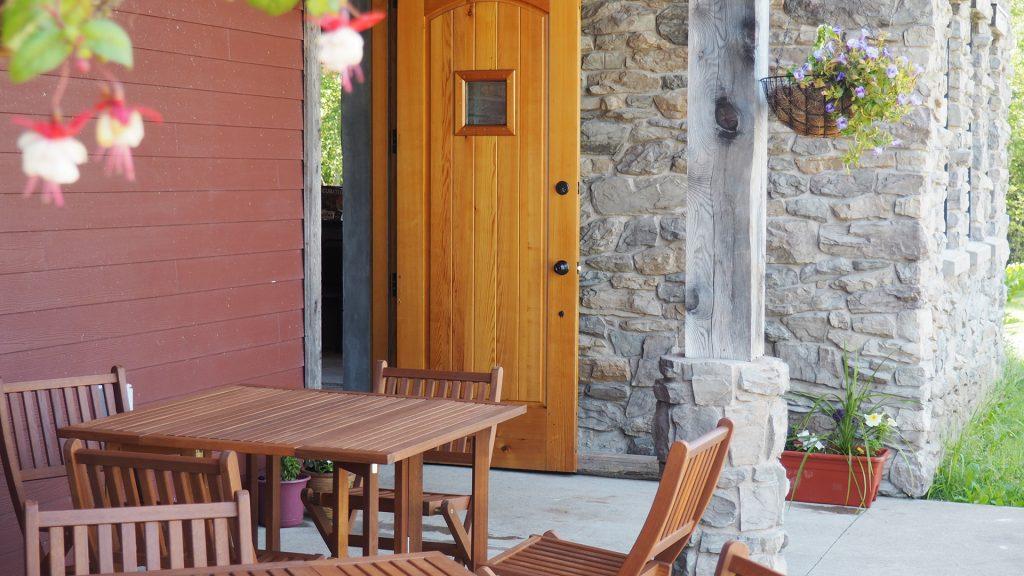 L'Acadie Wine Shop Patio